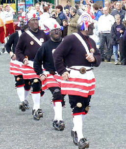 Photograph courtesy of the Britannia Coco-Nut Dancers of Bacup