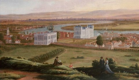 The rebuilding of Greenwich Palace after the Civil War
