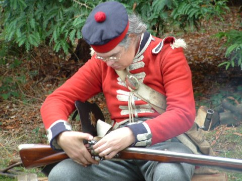 British Red Coat Soldier HUK