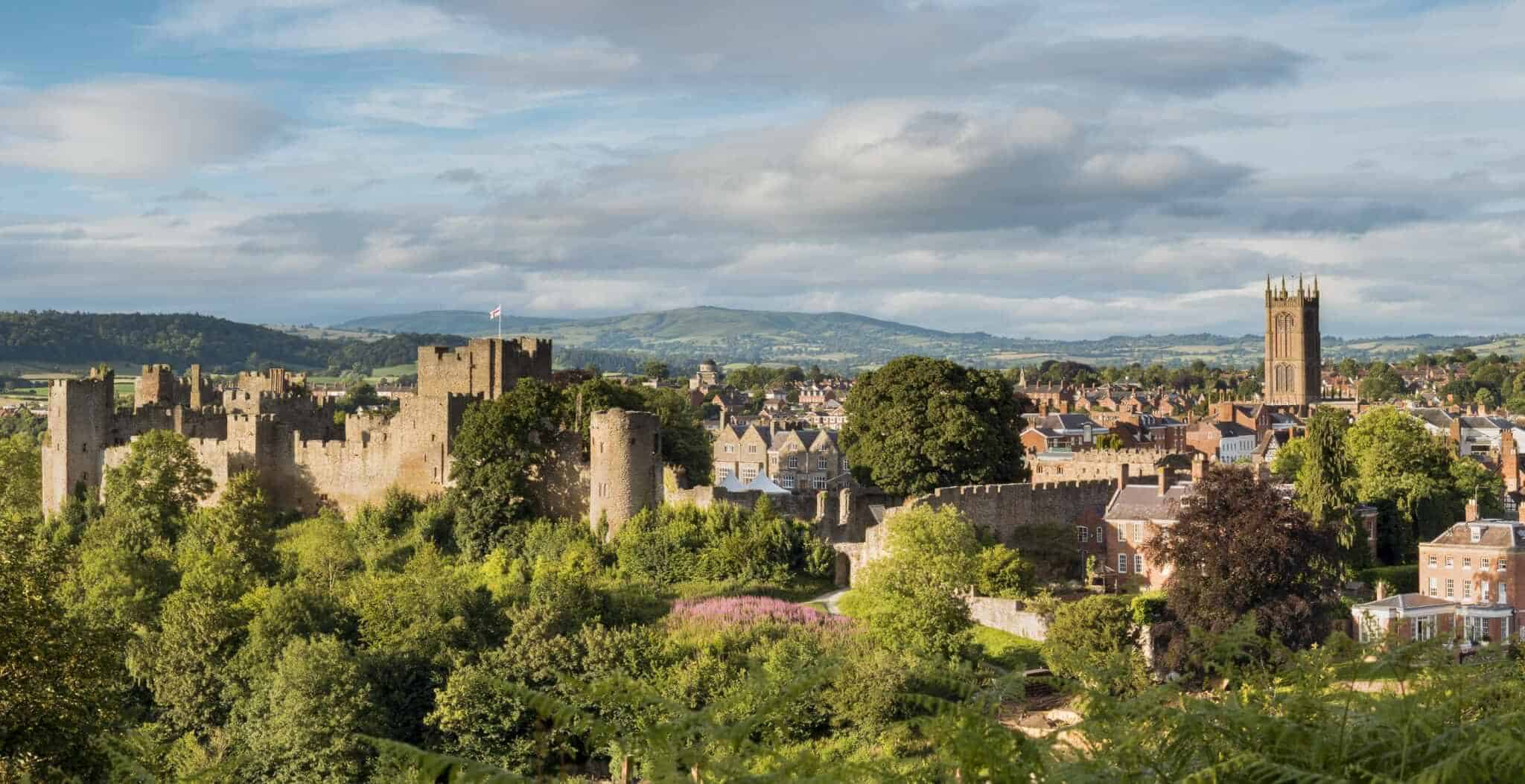 The History Of Ludlow Shropshire