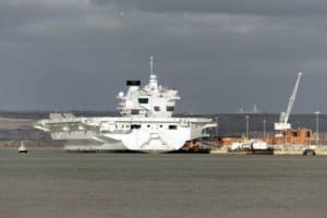 New aircraft carrier HMS Queen Elizabeth
